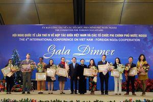 Vinh danh 29 tổ chức phi chính phủ có đóng góp tích cực cho Việt Nam giai đoạn 2014-2018