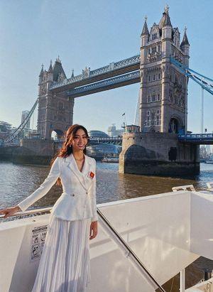Lương Thùy Linh và hành trình khám phá London