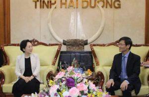 Doanh nghiệp Trung Quốc muốn hợp tác phát triển thành phố thông minh tại Hải Dương