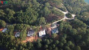 Phá rừng trong Khu du lịch Quốc gia hồ Tuyền Lâm