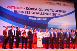 Vietnam - Korea Grow Together Business Challenge 2019: Nhiều cánh cửa khởi nghiệp đã mở