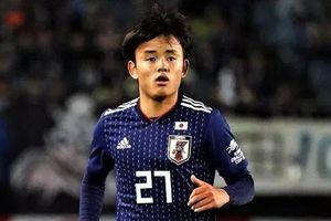Kubo vắng mặt trong đội hình Nhật Bản dự VCK U23 châu Á