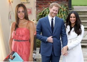 Gu ăn mặc của Meghan Markle trước và sau khi cưới Hoàng tử Harry