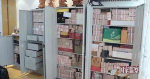 Quan tham Trung Quốc giấu 3 tấn tiền trong nhà, xây phố cho vợ và nhân tình sống chung