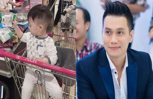 Hậu ly hôn, Việt Anh khoe đã đón con trai về ở một thời gian