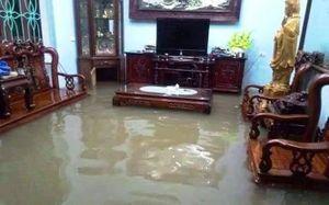 Hải Phòng, Nam Định ngập nước sau trận mưa lớn ngày đầu năm