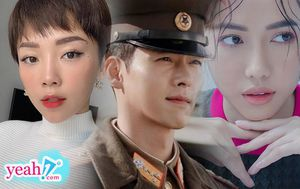 Mê mẩn anh lính Bắc Hàn - Hyun Bin trong 'Hạ cánh nơi anh', Tóc Tiên và Diệu Nhi phấn khích 'tung thính' đáng yêu có một không hai!