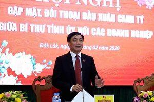 Ngay sau Tết, Bí thư Đắk Lắk đối thoại tháo gỡ khó khăn cho doanh nghiệp