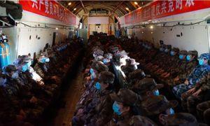 Quân đội Trung Quốc trong bài thử khủng hoảng nCoV