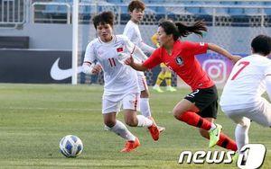Thua tuyển nữ Hàn Quốc 0-3, Việt Nam chấp nhận xếp Nhì bảng A