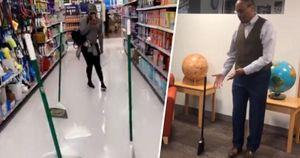 NASA lý giải hiện tượng cây chổi tự đứng ma thuật gây bão mạng xã hội