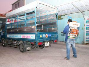 Trung tâm Dạy nghề Lái xe Sài Gòn chủ động khử trùng phòng chống virus Covid -19