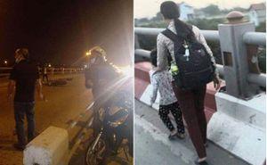 Hà Nội: Người mẹ dắt con gái đi xin ăn trên cầu Thanh Trì gặp tai nạn tử vong thương tâm
