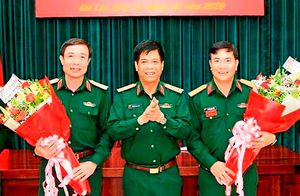 Bổ nhiệm Cục trưởng Cục Quân huấn, Tư lệnh Quân đoàn 3