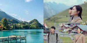 Cư dân mạng lùng sục cảnh đẹp nơi ghi hình 'Hạ cánh nơi anh' tại Thụy Sĩ