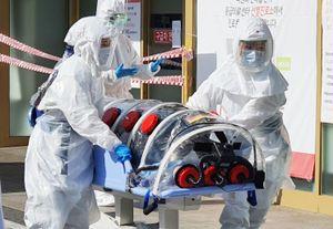 Ca nhiễm virus corona đầu tiên tử vong ở Hàn Quốc, 104 người mắc bệnh