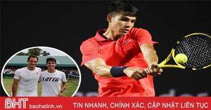 Tay vợt 16 tuổi hạng 406 thế giới tự ví mình với Federer