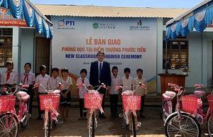 PTI trao tặng phòng học tại Bình Phước