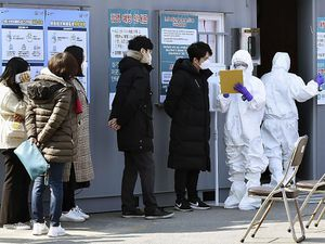 Hàn Quốc: Thêm người chết, số ca nhiễm tăng gần gấp rưỡi