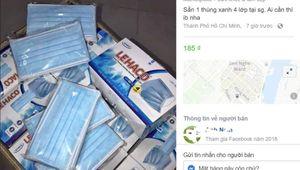 Vấn nạn 'ăn theo' tình trạng thiếu khẩu trang, nước rửa tay