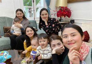 Cuộc tụ tập hiếm hoi: Ngọc Hân gặp hội mẹ bỉm sữa toàn mỹ nhân cùng các nhóc tỳ được quan tâm nhất Vbiz