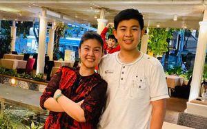 Kim Thư hiếm hoi khoe ảnh chụp với con trai nay đã cao lớn vượt bậc ở tuổi 13