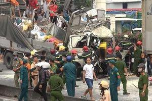 Kiểm tra chủ xe tải gây tai nạn giao thông đặc biệt nghiêm trọng