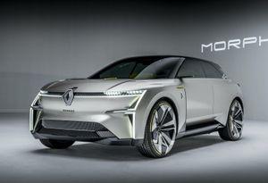 Renault giới thiệu xe tương lai có khả năng tự biến hình