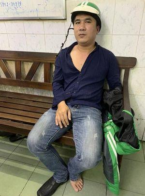 Tài xế xe ôm chở khách Nhật Bản chạy lòng vòng để cướp tài sản