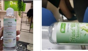 Gel rửa tay Hand Wash Gel của Công ty TNHH Quốc tế Laco phân phối bị thu hồi.
