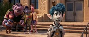 Bộ phim hoạt hình 'Onward' chiếm lĩnh phòng vé các rạp Bắc Mỹ