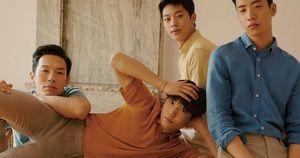 F4 'Hạ cánh nơi anh' tung bộ ảnh tạp chí lột xác bảnh xuất thần, chú ý nhất là visual của 'bản sao Kim Soo Hyun'