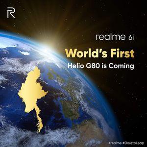 Realme 6i sẽ là smartphone đầu tiên trang bị chip Helio G80