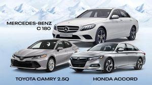 Tầm giá 1,3 tỷ đồng: Chọn xe sang Đức cắt trang bị hay xe Nhật bản cao nhất?