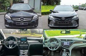 Mercedes-Benz C180 có gì để 'đấu' với Toyota Camry?