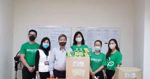An Phát Holdings tặng cốc giấy sinh học phân hủy hoàn toàn cho khu cách ly Trúc Bạch, Hà Nội
