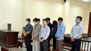 5 cựu cán bộ Thanh tra tỉnh Thanh Hóa nhận hối lộ lĩnh án
