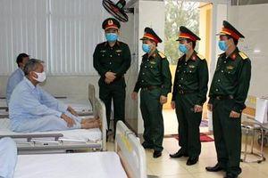 Đoàn công tác Quân khu 1 kiểm tra tình hình hoạt động Bệnh viện Quân y 91 và 110