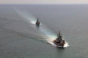 Tàu chiến Nga 'truy kích' một tàu tên lửa của Hải quân Ukraine