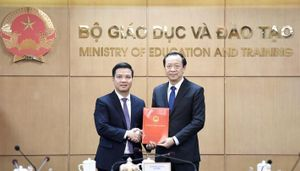 Ông Trần Quang Nam được bổ nhiệm làm Chánh văn phòng Bộ Giáo dục và Đào tạo
