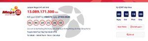 Kết quả xổ số Vietlott Mega 6/45 tối ngày 29/3/2020: 'Nổ' hơn 13 tỉ đồng?