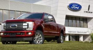 Ford dự định tái sản xuất vào tháng tới vì doanh số bán hàng giảm mạnh