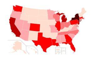 Hơn 140.000 người mắc Covid-19 tại Mỹ, cứ mỗi phút có thêm 3,6 ca nhiễm mới