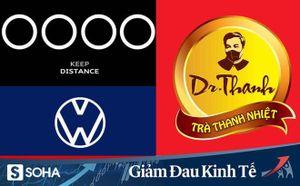 Logo các thương hiệu nổi tiếng đồng loạt 'xa nhau 2 mét' thời Covid-19