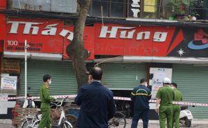 Nổ lớn ở cửa hàng kinh doanh khí, 2 người bị thương