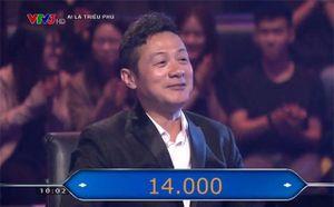 Diễm Quỳnh trợ giúp trả lời xuất sắc cho MC Anh Tuấn chơi 'Ai là triệu phú'