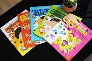 6 bộ sách giúp trẻ trang bị kỹ năng bảo vệ sức khỏe