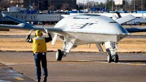 MQ-25A có thể cung cấp cho máy bay 6,8 tấn nhiên liệu