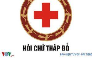 Hội Chữ thập đỏ Việt Nam tiếp nhận hỗ trợ phòng chống dịch Covid-19