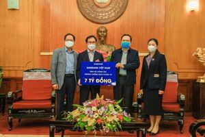 Samsung Việt Nam trao 10 tỷ đồng phòng chống Covid-19